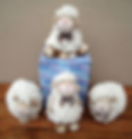unusual sheep ornaments