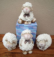 unusual sheep ornaments