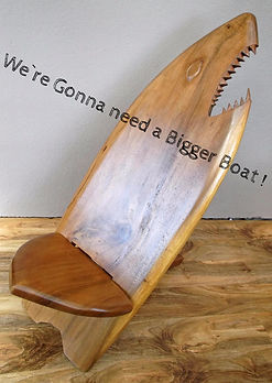 plantationdesigns shark surfboard chair