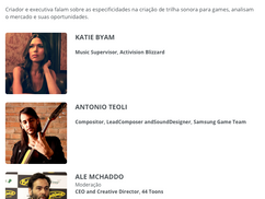 Rio2C, Game Audio School and so on...