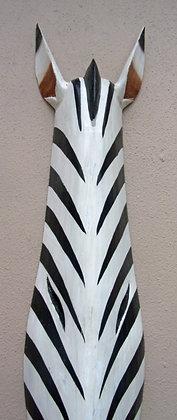 Contemporary Zebra Wall  Mask No 2  100cm