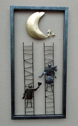 Ladder to the stars -unusual 3D Wall Art