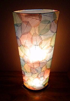 Natural Coloured Leaf Bali Lamp 1 Mtr