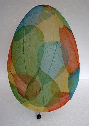 Egg Shape Leaf Lamp