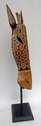Giraffe Mask on Stand No.3