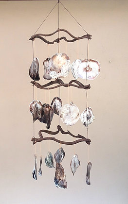 Capiz Shell Giant Natural Shell Wind Chime