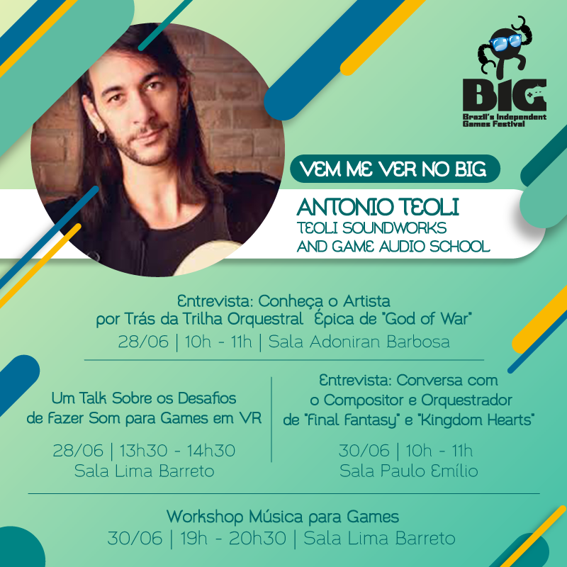 Antonio Teoli at BIG