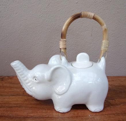 Unusual Hand Made Elephant Tea Pot
