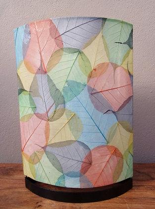 Multi Coloured Leaf Lamp - 40cm