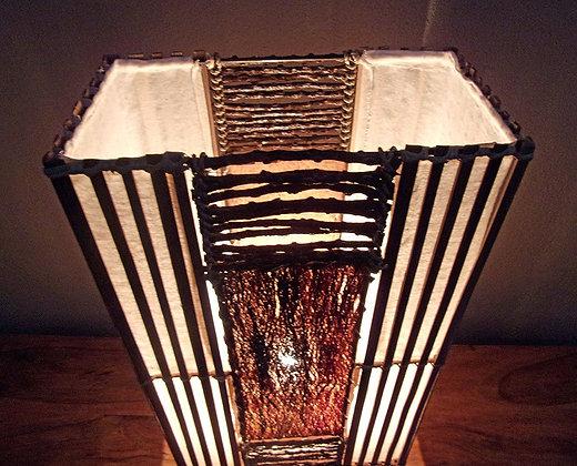 Jungle Flame Bali Table Lamp 50cm