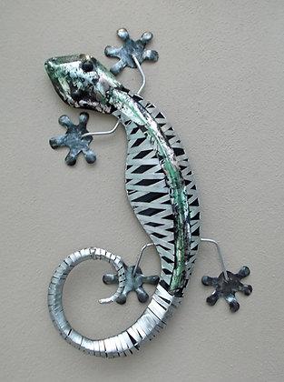 Silver Stripped Wall Gecko - Medium