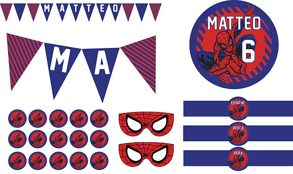 Party Kit Spiderman