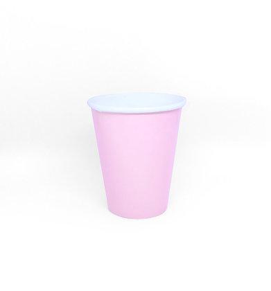 8 Bicchieri rosa pastello