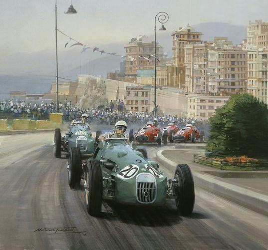 1951 Genoa - Moss - HWM by Michael Turne