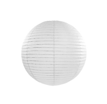 Copia di Lanterna di carta 20 cm bianca