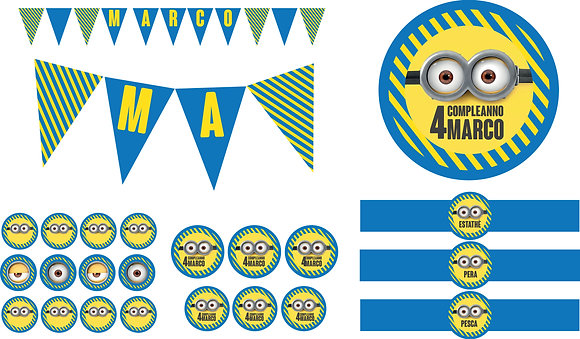 Party Kit digitale Minions