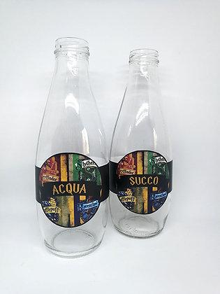 n.4 etichette adesive per bottiglie