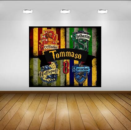 Poster Backdrop scenografico PVC 100x80cm