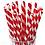 Thumbnail: n.20 Cannucce di carta Rosse