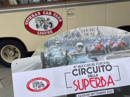 16° Rievocazione Storica del Circuito della Superba. 2021