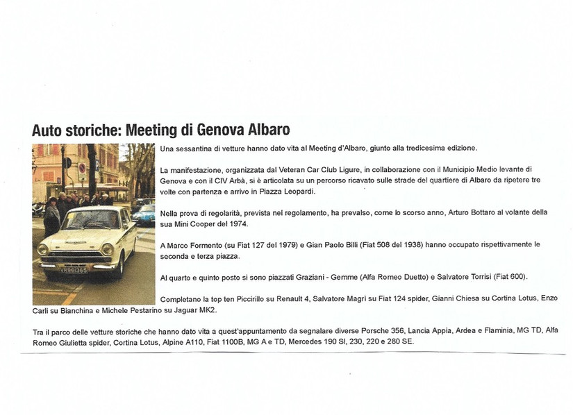 8 La Repubblica.it ed Genova 16 febbraio