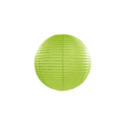 Lanterna di carta 20 cm verde