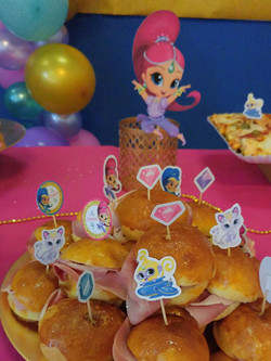 partyplanner - shimmer and shine