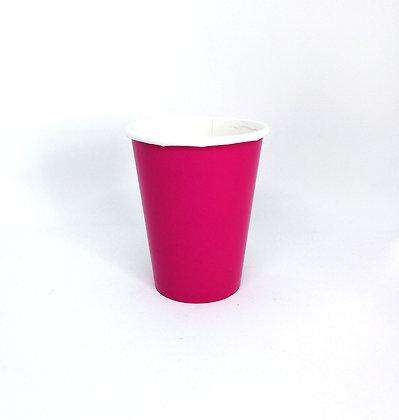 8 Bicchieri fuxia