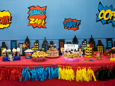 Super Hero Party! In Ludoteca :)