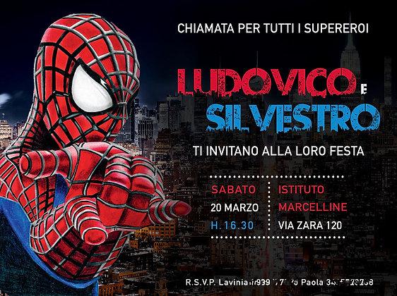 Invito Spiderman