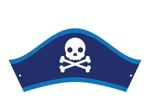 8 Cappellini Pirata Boy