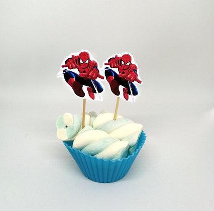 Food tags Spiderman
