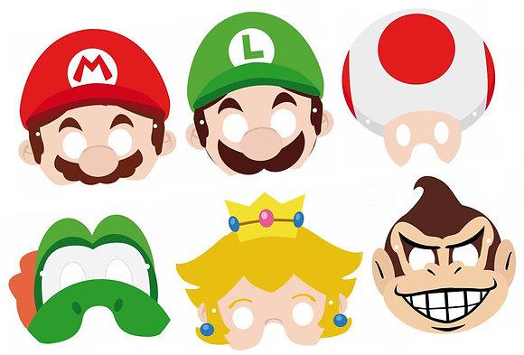 n.6 Mascherine Super Mario