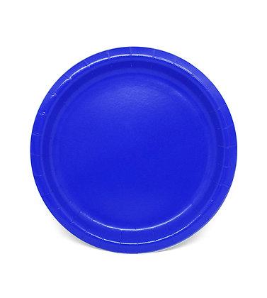 8 Piatti blu