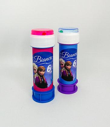 Bolle di sapone personalizzate