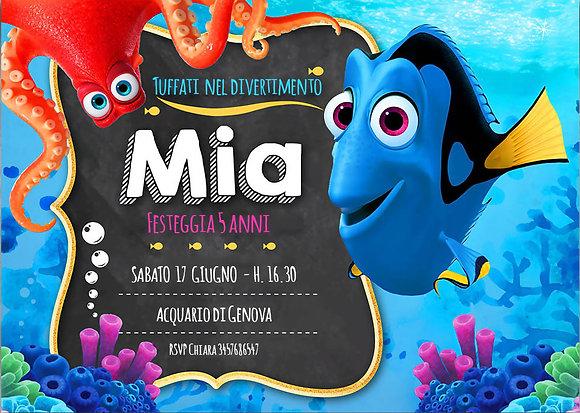 Invito Nemo & Dory
