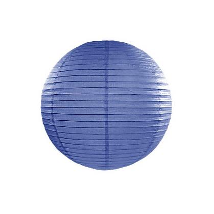Lanterna di carta 20 cm blu