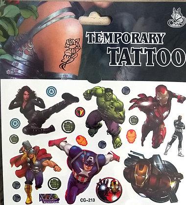 n°30 tattoo Avengers