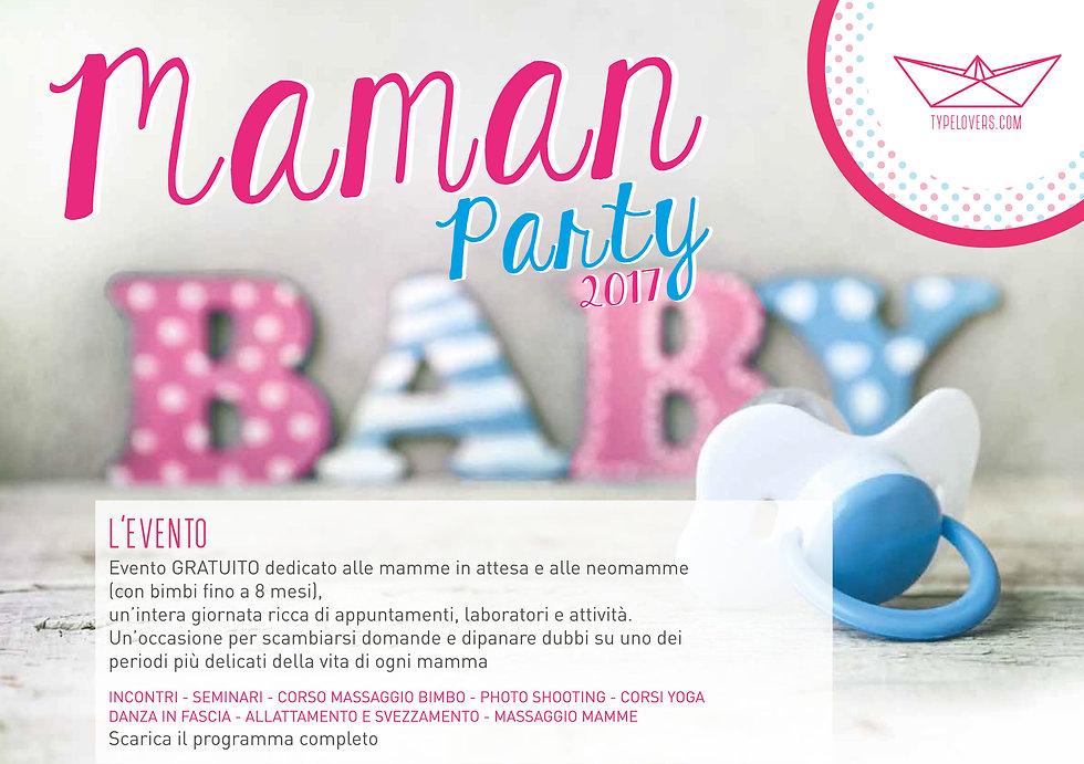 Maman Party genova - L'evento per le mamme a genova e liguria