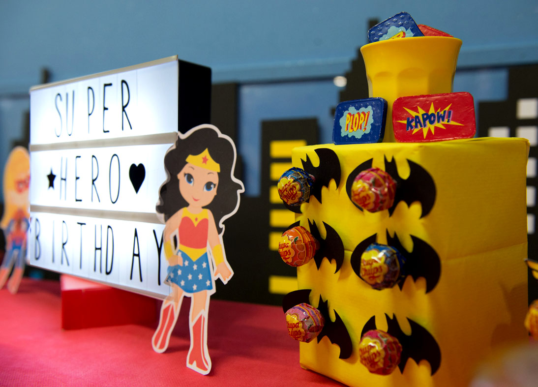 Super hero party Typelovers