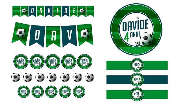 Party Kit digitale Calcio