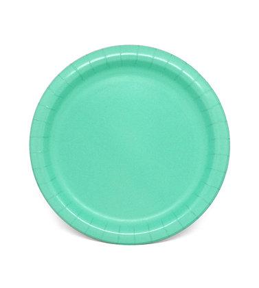 8 Piatti verde acqua