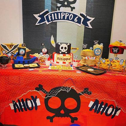 Backdrop scenografico Pirata Boy