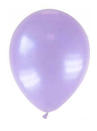 25 Palloncini lilla metallizzati