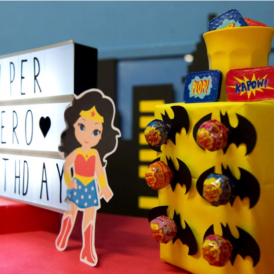 typelovers event - super hero - party planner
