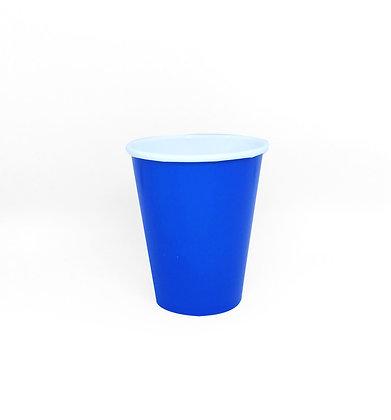 8 Bicchieri blu