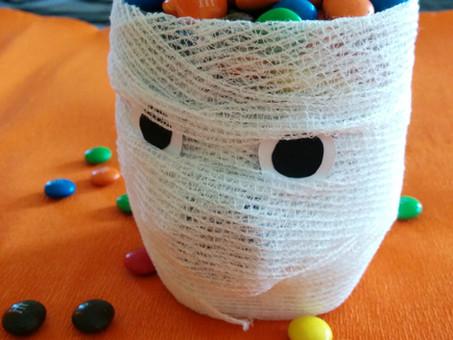 Mummie di smarties - Halloween