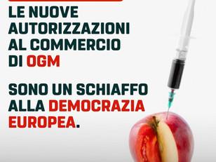 NUOVA AUTORIZZAZIONE  AL COMMERCIO OGM È SCHIAFFO A DEMOCRAZIA EUROPEA
