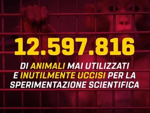 12.597.816 DI ANIMALI UCCISI