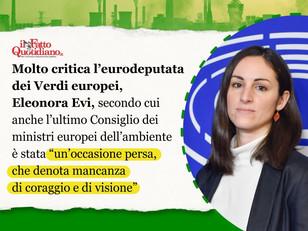 CI GIOCHIAMO TUTTO SULLA LEGGE EUROPEA SUL CLIMA... DOV'È IL CORAGGIO DELL'ITALIA?